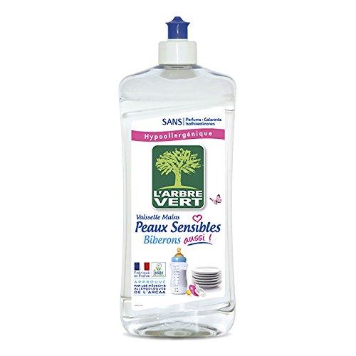 L'arbre vert Liquide Vaisselle Peaux Sensibles Biberons 750 ml