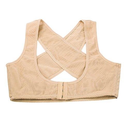 vinmax Frauen Bucklige Haltung Form Corrector oberen Schulter mit Push Up BH (Rücken-unterstützung Criss Cross)