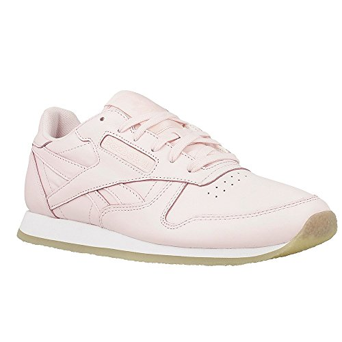 CHAUSSURES REEBOK CLASSIC LEATHER CREPE NEUTRAL POP Rose