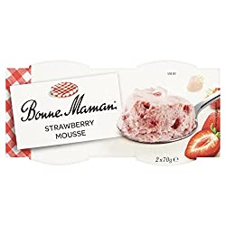 Bonne Maman Strawberry Mousse, 140 G