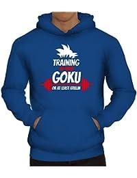 Training To Beat Goku Or At Least Krillin, Herren Kapuzen Sweatshirt - Pullover Hoodie