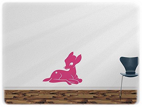 Preisvergleich Produktbild wandfabrik - Wandtattoo - 1 schönes Rehkitz in pink