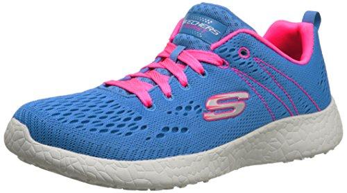 Skechers - Burst Adrenalin, Chaussures De Course Femme Celeste