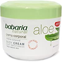 Babaria Naturals Aloe Vera Luxurious Body Cream