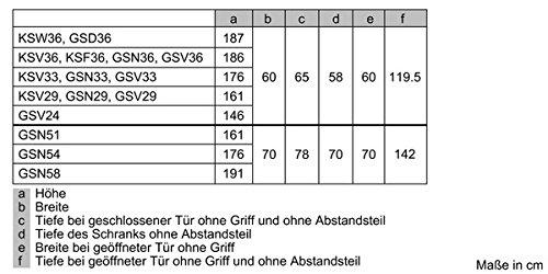 Siemens iQ300 GS29NVW30 Gefrierschrank - 5