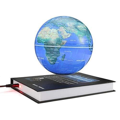 ating Globe Beleuchtet Weltkarte mit LED-Lichtern Erde Ballon zur Dekoration des Schreibtischs, Geburtstagsgeschenk Kreative Buchbasis ()