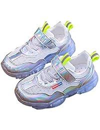 Shoes Zapatillas de Deporte con Luces LED para niños, Zapatillas Deportivas al Aire Libre, Zapatos Deportivos de Malla, Unisex