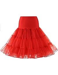 MEITEMEI 1950 Petticoat Reifrock Unterrock Petticoat Underskirt Crinoline für Rockabilly Kleid