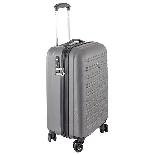 DELSEY PARIS SEGUR Koffer, 55 cm, 48 liters, Grau (Gris) -