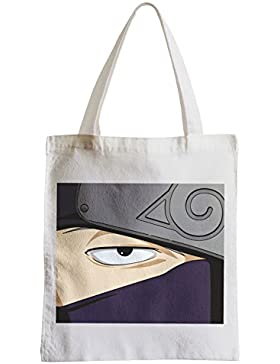 Große Tasche Sack Einkaufsbummel Strand Schüler Kakashi amorphe Augen ninja manga Naruto