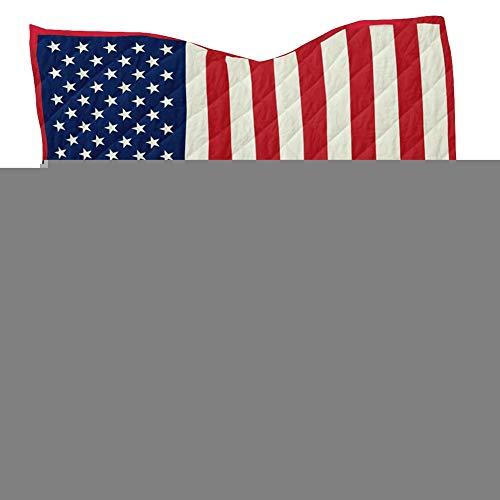 Qinlorgo Manta Cama Patrón Bandera Americana Manta