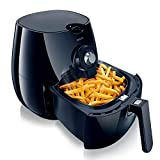 Philips HD9220/20 Airfryer with Rapid Air Technology for Healthy Cooking, Baking and Grilling, Plastic, 1425 W, Black