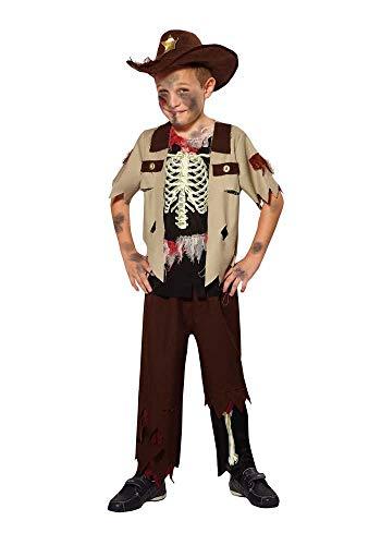 Mr.Giggelz Kinderkostüm - Zombie Sheriff Größe S