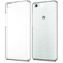 kwmobile Cover per Huawei P8 Lite (2015) - Custodia trasparente per cellulare - Back cover cristallo in plastica rigida trasparente