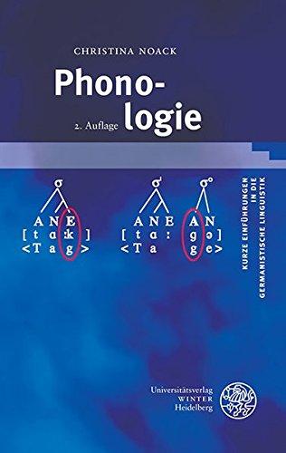 Phonologie (Kurze Einführungen in die germanistische Linguistik - KEGLI, Band 10)