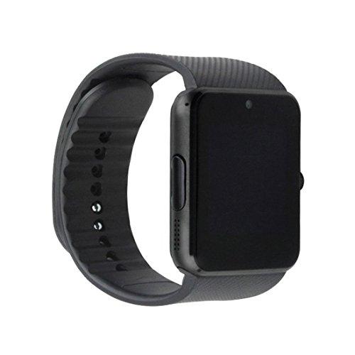COLMI VS08 Smart Watch Anrufe Nachrichten Benachrichtigung Wasserdicht Smart Armband (Farbe: Schwarz)