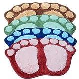 blyax (TM) vente en gros et au détail universel sont Lovely Big pieds ventouse à la porte de salle de bain Tapis de tapis de tapis de tapis de porte Tapis