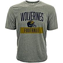 Levelwear NCAA MICHIGAN WOLVERINES Shader T-Shirt, Größe:S