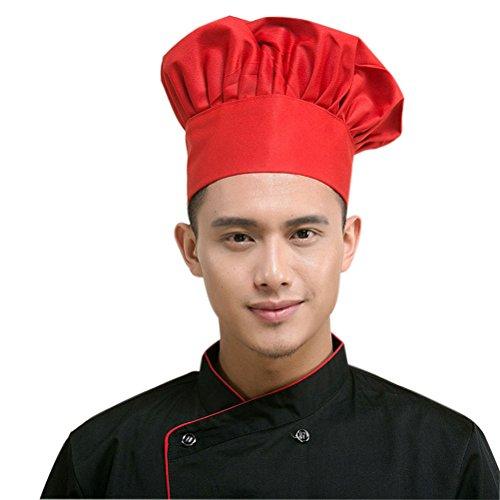 LEORX Elastico Elastico Cappello Cuoco