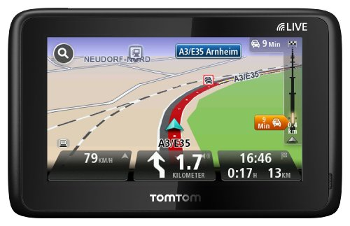 TomTom Go Live 1015 HDT & M Europe inkl. FREE Lifetime Maps & 3 Jahre HD Traffic, 13 cm (5 Zoll) Fluid Touch Display, 45 Länder, HD Traffic, LIVE Services, Fahrspur- & Parkassistent, Sprachsteuerung