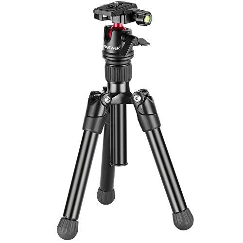 Neewer 63cm compatto desktop macro mini treppiede con testa a sfera 360gradi,1/10,2cm piastra a innesto rapido, borsa per fotocamera, videocamera DSLR fino a 5kilogram/5kilograms