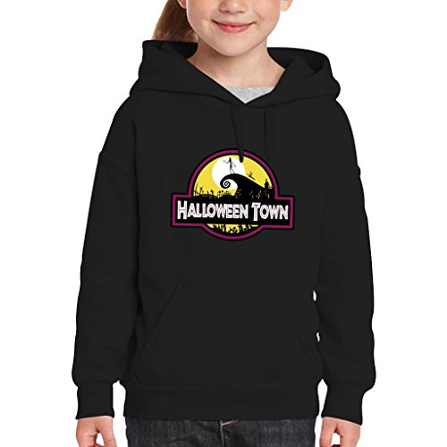 Town Nightmare Before Christmas Park Kid's Hooded Sweatshirt ()