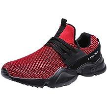 Zapatos Hombre,ZARLLE Zapatillas Running Hombre Mujer Zapatos Deporte para Correr Trail Fitness Sneakers Ligero