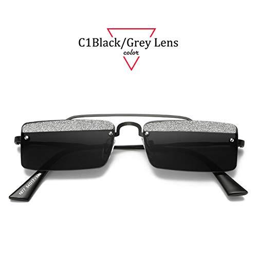 Kjwsbb Sonnenbrille Damen 2019Small Frame RechteckSonnenbrilleDamen Shade Oculos
