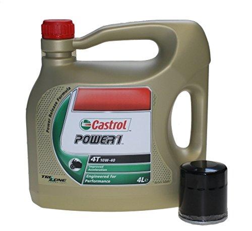 kit-tagliando-4-castrol-power-1-4t-10-w-40-4-litri-con-filtro-dell-olio-per-moto-honda-cb-cbr-gl-nt-