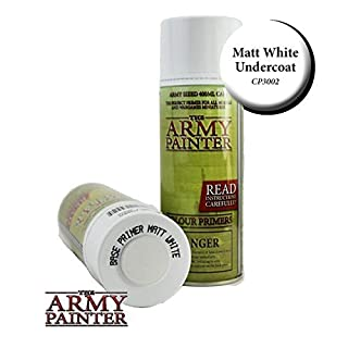 Army Painter - Base Primer - Matt White Spray