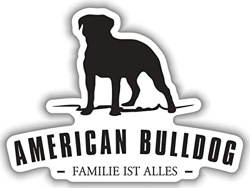 Aufkleber American Bulldog wetterfester