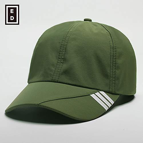 sdssup Hut Frühling schnell trocknend Männer und Frauen Baseballmütze Sommermütze Armee grün einstellbar