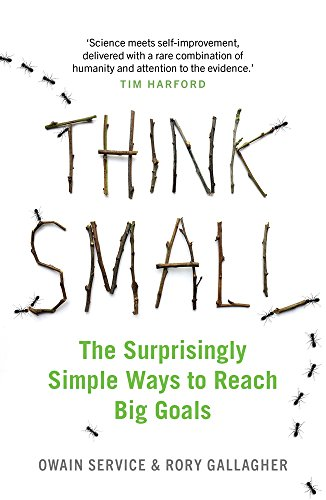 Think Small: The Surprisingly Simple Ways to Reach Big Goals por Owain Service