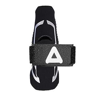 SUPVOX Fingerschiene-Hülsen-Daumen-Stützklammer-breathable Finger-Band-Bügel für Ball-Sport-Training (Größe S/M)