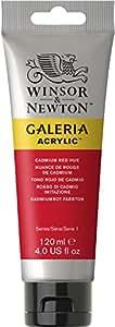 Winsor & Newton 120ml Galeria Acrylic Paint - Cadmium Red Hue