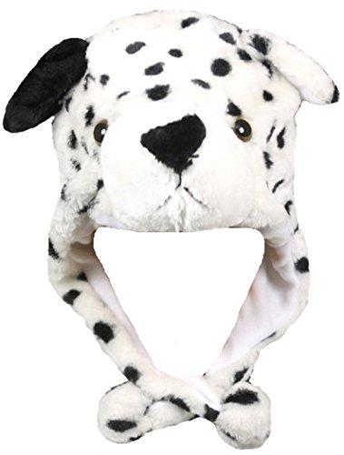 Honeystore Unisex Erwachsene Kinder Tiermütze Wintermütze Plüschmütze Kopfbedeckungen Mützen Hüte Karneval Cosplay Spielzeug Verkleiden Hund