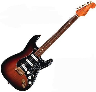 Fender 0109200800Stevie Ray Vaughan Stratocaster Pau Ferro–Diapasón Guitarra eléctrica–Sunburst