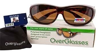 Opticaid Surlunettes avec verres polarisants pour transformer vos verres correcteurs en lunettes de soleil en un instant