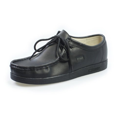 Tower Footwear 1000 Black Napa Leather Shoes