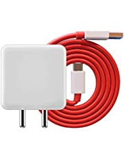 RSC POWER+ Dash Charger Adapter and Type C Cable for One Plus 6