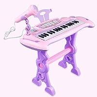 LVPY Clavier Électronique pour Enfants - 37 Touches Multifonction Enfants  Electronique Clavier Piano avec Microphone, 0478ba3d1aa0