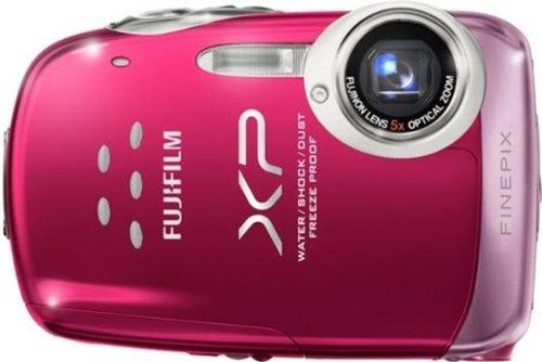 Fujifilm Finepix XP10 Digitalkamera (12 Megapixel, 5-fach opt.Zoom, 6,9 cm Display) pink