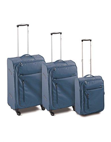 Set 3Trolley (g-m-c) 4R–Meta, azul navy (Azul) - 42.51.89