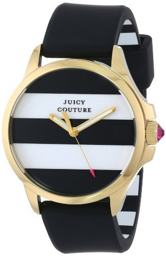 Juicy Couture Donna 1901098 Jetsetter Bianco e nero a strisce quadrante by Juicy Couture