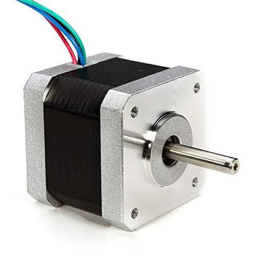 UG LAND INDIA Stepper Motor NEMA 17, 5 Kg Torque Lift 4-Lead 1.8 Deg 40N.cm Holding Torque 1.7A 42 Motor for 3D Printer Hobby CNC Router