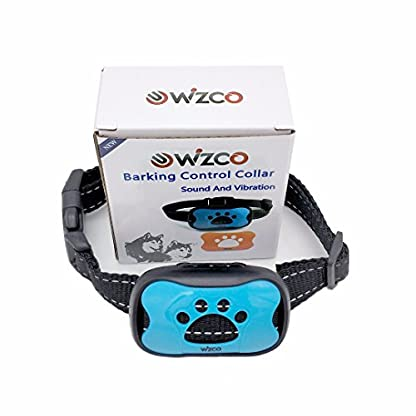 WIZCO-Barking Control Collar. Stops Dogs Barking Humanely 6