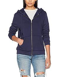 Pepe Jeans Women's Zip Thru Ladies Hooded