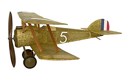 Sopwith Camel complete vintage model rubber band powered balsa wood aircraft kit