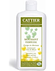 Cattier Moussant Familial au Lactosérum 500 ml