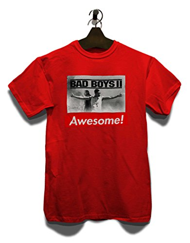 Awesome 10 T-Shirt Rot